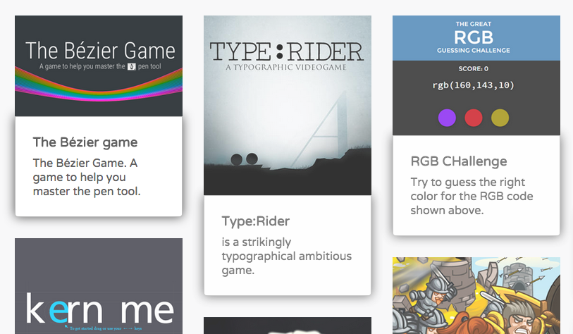 Games for Designers